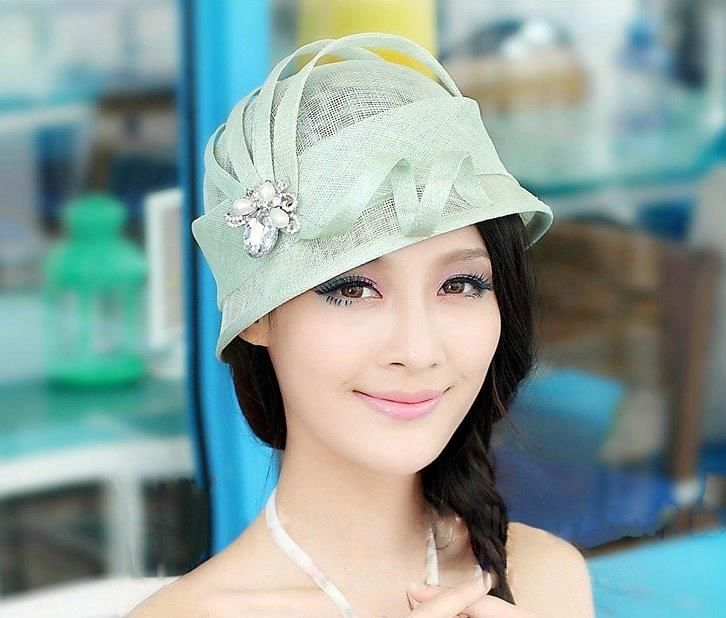 """Margot"" Mint Green Fascinator Hat $89.95 includes FREE Shipping Australia Wide"