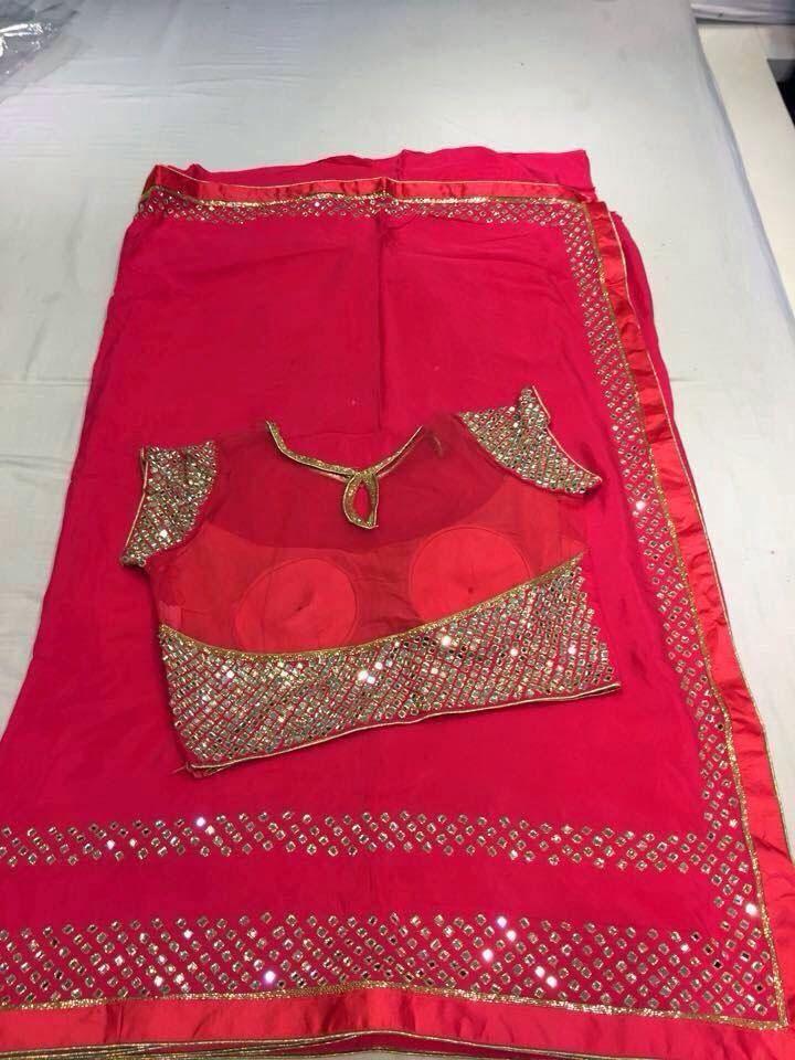 Fancy sarees With Designer Blouse |Buy designer sarees at online | Elegant Fashion Wear #elegantfashionwear #red #fancysaree #designerblouse