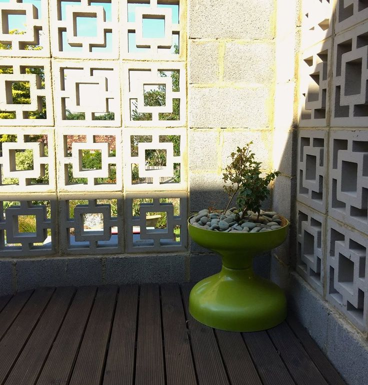 80 best concrete block screens images on pinterest for Besser block home designs