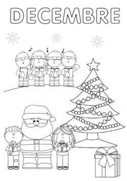 coloriage de décembre à télécharger ici http://ekladata.com/_Xgtb787oHdjUEi-RcKG_t9Y_T4/coloriage-decembre-.pdf