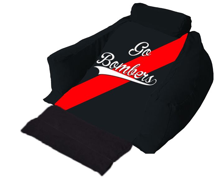 For all the Bombers' fans, get your own wedg-eze support lounger now!  #gobombers #AFL #wedgeze