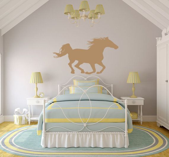 Horse Wall Decal Horse Wall Art Horse Decor Equine by SignJunkies