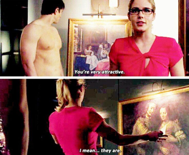 Arrow - Ray & Felicity #3.15 #Season3 #NandaParbat