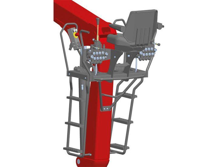 Traktorkrane - Forstwirtschaft - STEPA Farmkran