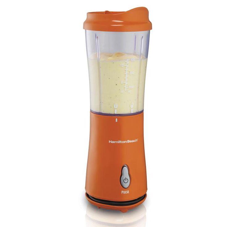 Hamilton Beach Blender Orange Color Cool Design