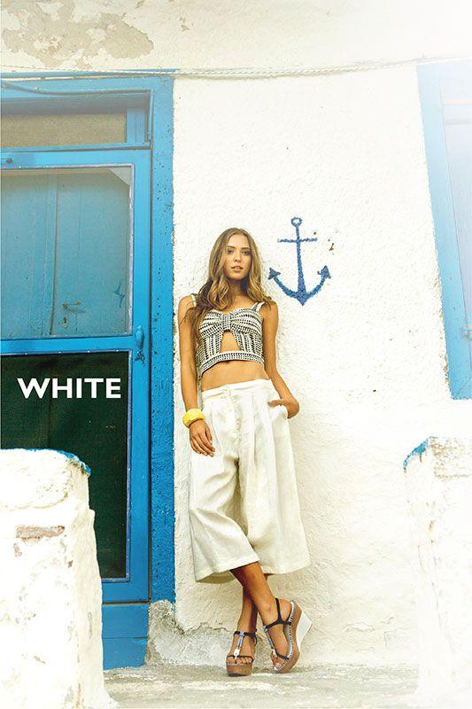Greek summer is WHITE...