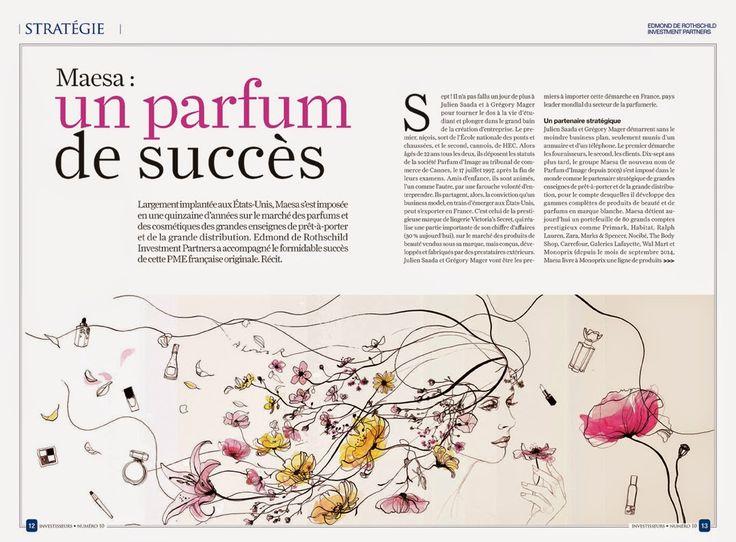 Toril Baekmark: INVESTISSEURS Magazine