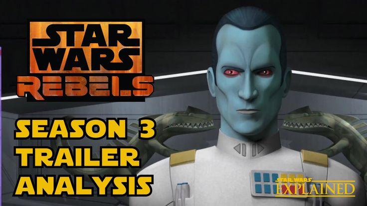Star Wars Rebels Season 3 Trailer In-Depth Analysis: Thrawn, Wedge, Dark Troopers, and More!