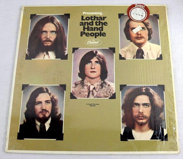 Lothar And The Hand People Vinyl LP Album Reissue Abridged Version MT/NM OOP #Rock1980sElectronicPopRockPsychedelicRockExperimental