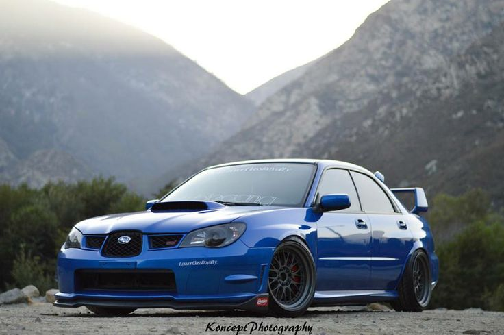 subaru wrx sti slammed stance Cars and motorcycles