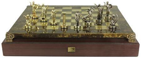Manopoulos Шахматы геркулес  — 13405 руб.  —  Серия: Шахматы Упаковка: Обычная упаковка