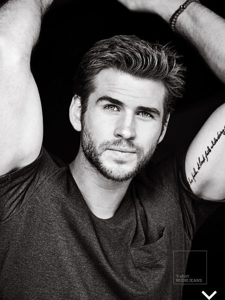 Liam Hemsworth is the November 2015 Men's Fitness Cover Feature The Hunger Games News - Panem Propaganda