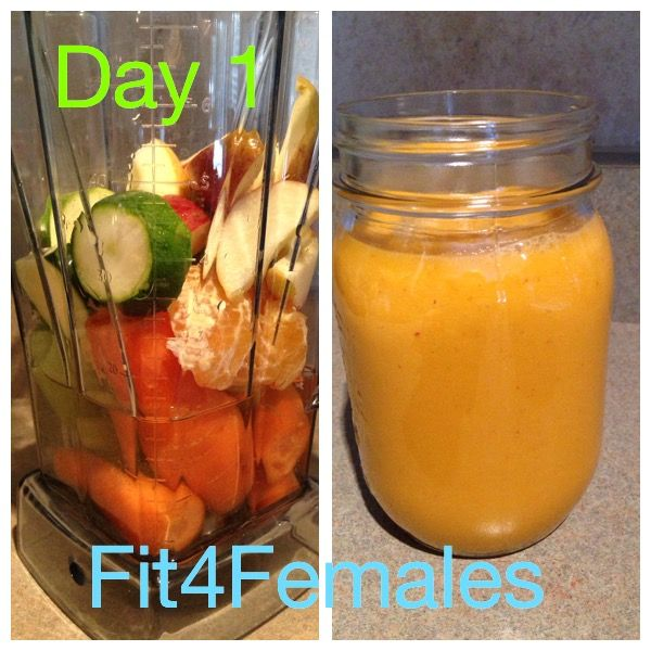 Day 1 Juice Detox, healthy detox rules and eating clean.
