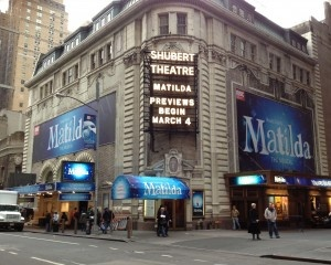 Matilda on Broadway 2013 - Loved, loved, loved this show!!!