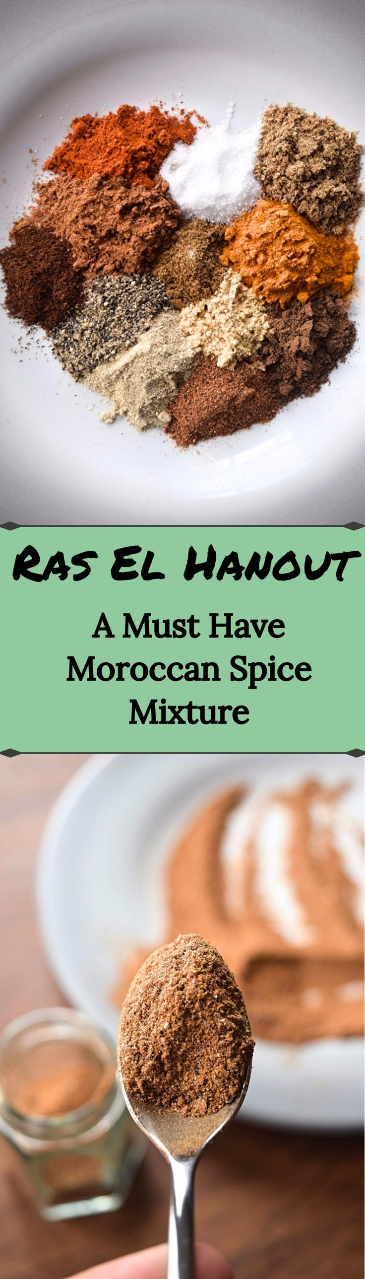 The magical Moroccan spice Ras El Hanout - Ras El Hanout is a common spice mixture in Moroccan food. It's warm, spicy, and pairs wonderfully with honey and dried fruit, which is an often used combo when cooking Moroccan food. It will keep for about a month. – A Stray Kitchen