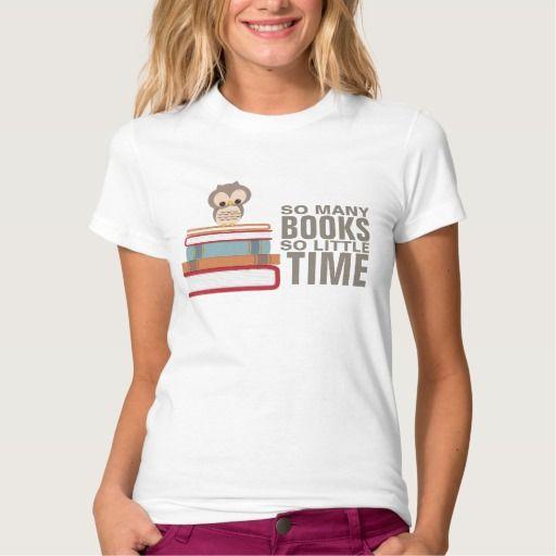 Tan muchos libros tan poco empollón lindo del remera