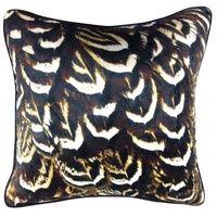 Set 2 Mono Feather Crop Cushions Home Decor