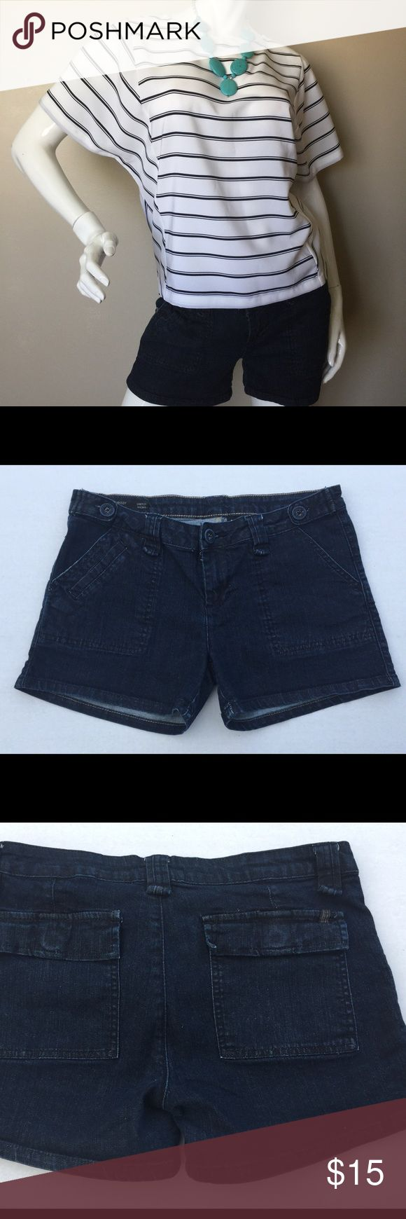 Buffalo David Bitton denim stretch shorts mid rise Denim shorts by Buffalo David Bitton Chrissy Style mid rise stretch shorts size 29. Super cute and comfortable in time for spring. Buffalo David Bitton Shorts Jean Shorts