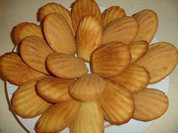 """Вкусное домашнее печенье """"Мадлен"""" за 15 минут » Кулинарные рецепты"""