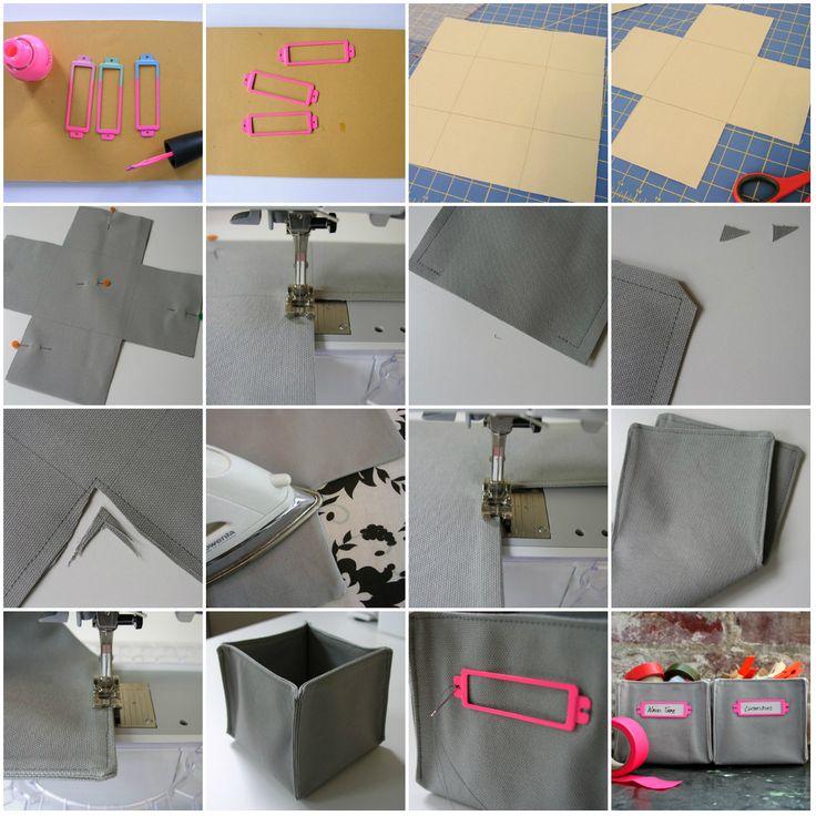 Cajas de tela
