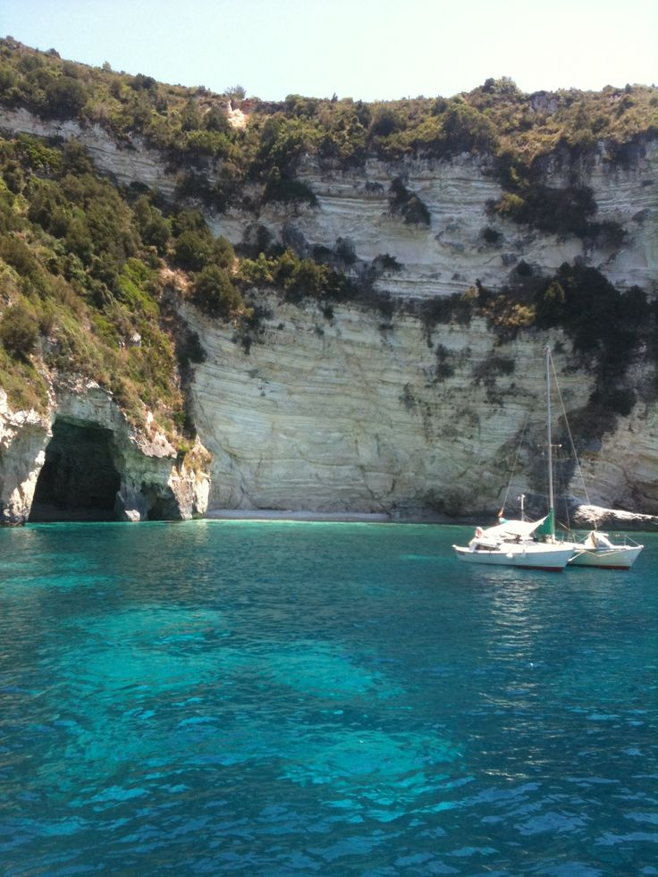 Ionian Islands: 2. Take a boat trip from Parga to Anti-Paxos and Paxos to visit the blue caves and Gaios village with its magical small- island charm.