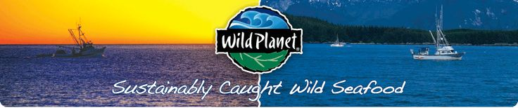 Wild Planet is committed to providing the finest tasting sustainably caught Wild Planet: Seafood while supporting the conservation of wild marine ecosystems.