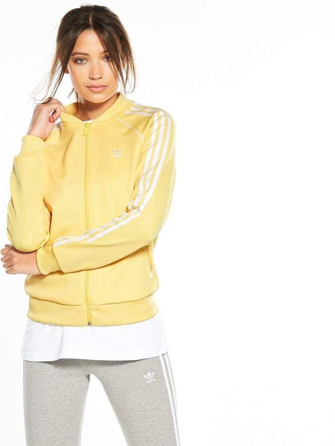 ed535ca48e9a adidas Originals adicolor Superstar Track Top - Sand   ADIDAS ...