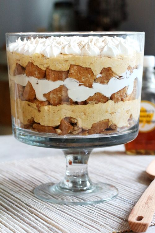 ... Pumpkin Trifle on Pinterest | Trifle, Trifle Recipe and Brownie Trifle