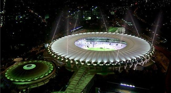 Estadio Maracana, Brasil 2014 http://elmundialbrasil2014.com/12023-estadio-maracana-rio-de-janeiro-brasil-2014.html
