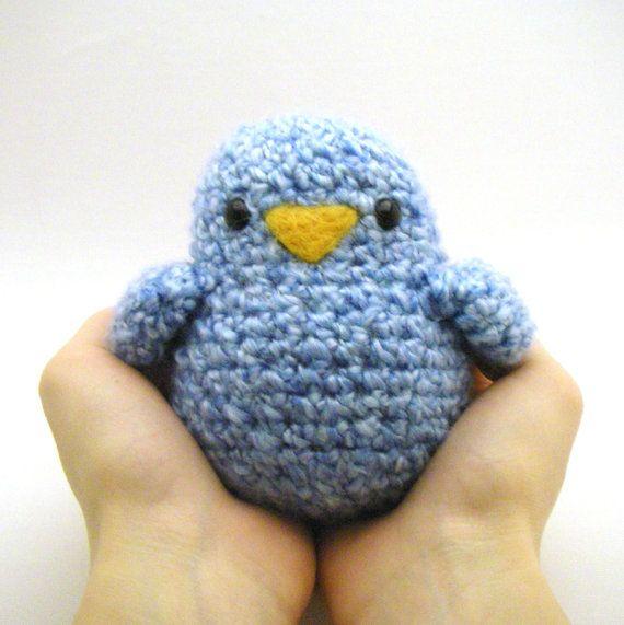 Instant Download - Crochet Pattern - Fat Birdy on Etsy