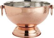 Copper Hammered Beverage Tub