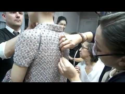 Chanel Spring 2011 Haute Couture Model Fitting