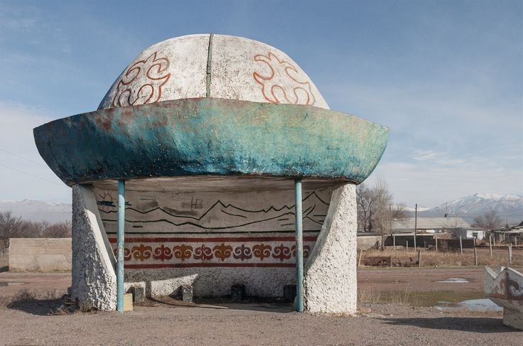 Next stop, Siberia! The strange and beautiful world of Soviet bus stops – in pictures