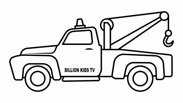 Pin On Coloring Truck Pages