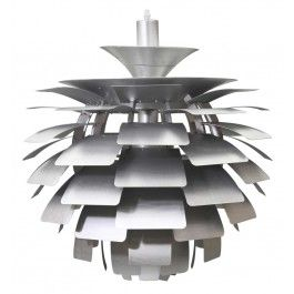 Artichoke Lamp inspired by Poul Henningsen white or copper