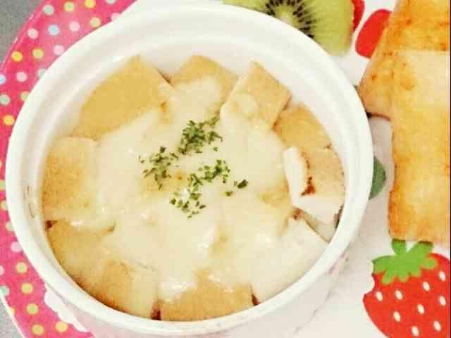 離乳食完了期♡パングラタン風野菜スープ by 紗栞。