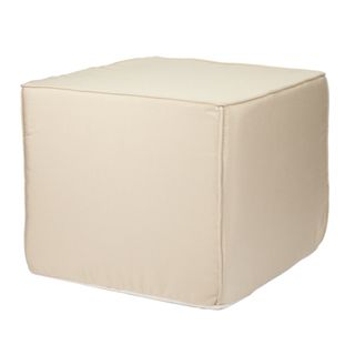Brooklyn 22-Inch Square Outdoor Ottoman-Traditional Colors | Overstock.com Shopping - Big Discounts on Sofas, Chairs & Sectionals