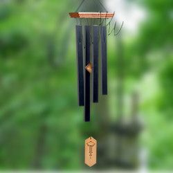 Woodstock Percussion 25 Inch Craftsman Wind Chimes $ 35.  Listen to it on the web site.