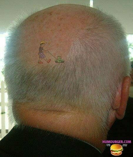 54 Best Meteorite Images On Pinterest: Tatouage D'un Jardinier Sur Le Crâne Chauve D'un Homme