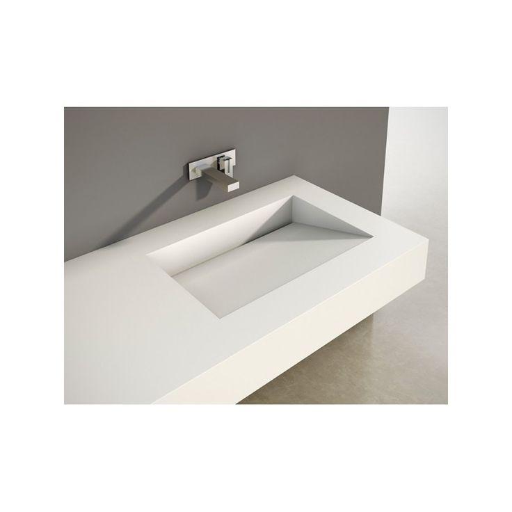 Plan vasque en Corian® | Tennessee