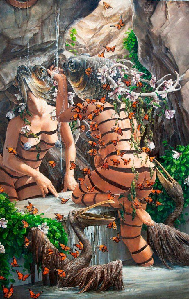 Сюрреалистические картины Ханны Фейт Ята — ArtWorlds