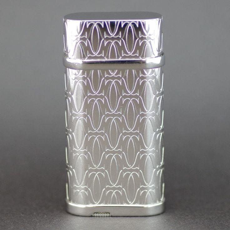 【中古】Cartier(カルティエ) CA120134 Cドゥ カルティエ 2C プラチナフィニッシュ シルバー ライター/プラチナフィニッシュのカルティエ「C」マーク入りライターです。ひと目でカルティエのライターとわかるエレガントなデザインで印象的なモデルです。/新品同様・極美品・美品の中古ブランドライターを格安で提供いたします。