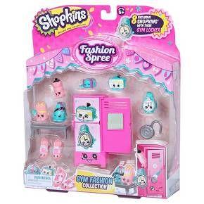 Shopkins™ Fashion Spree - Gym Fashion Collection : Target