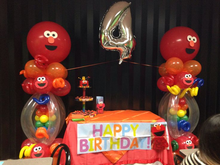 elmo coloring pages birthday balloon - photo#35