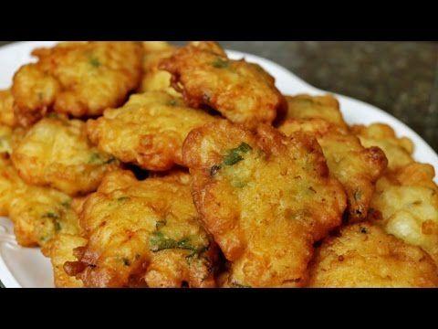 Tortillitas de gambas o langostinos - YouTube