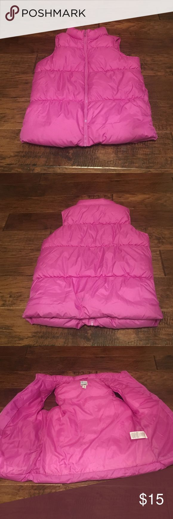 Old navy puffy vest Purple old navy puffy vest. In outstanding condition 10/10 no flaws. Old Navy Jackets & Coats Vests