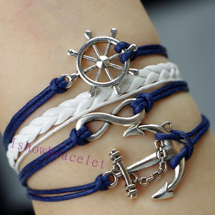 Navy Bracelet $4.99