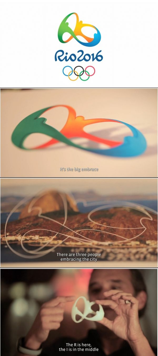 Olympic rings logo rio 2016 olympics logo designed by fred gelli - 14 Best Rio 2016 Case Study Images On Pinterest Rio 2016 Olympics Case Study And Summer Olympics