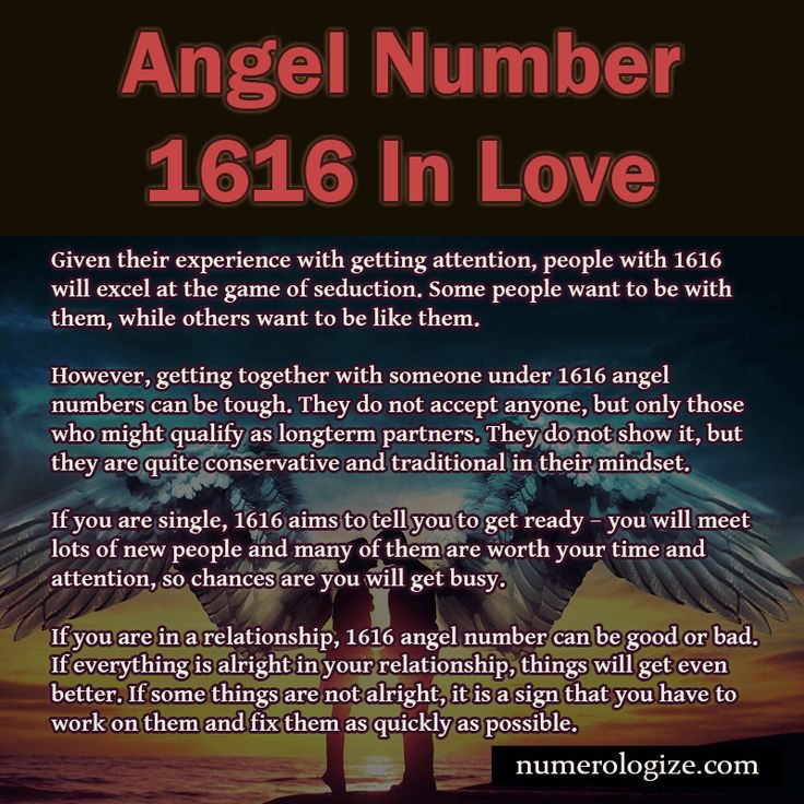 Angel Number 1616 In Love