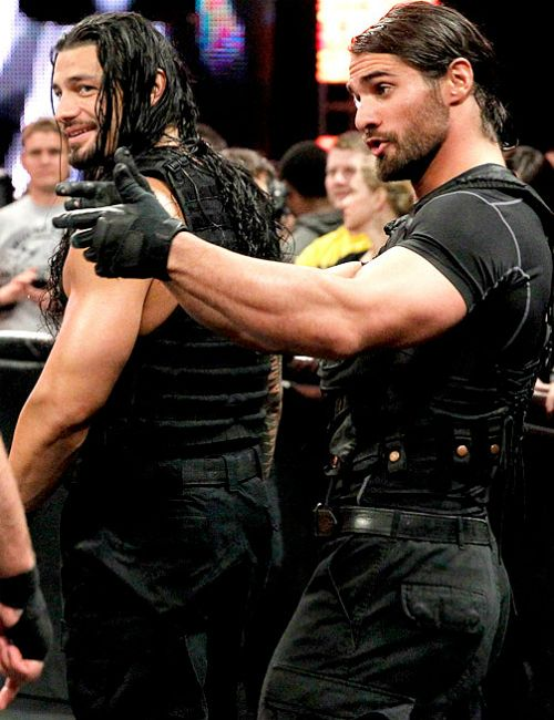 Seth Rollins and Roman Reigns. But everyone does realize the focus is on Seth, right?